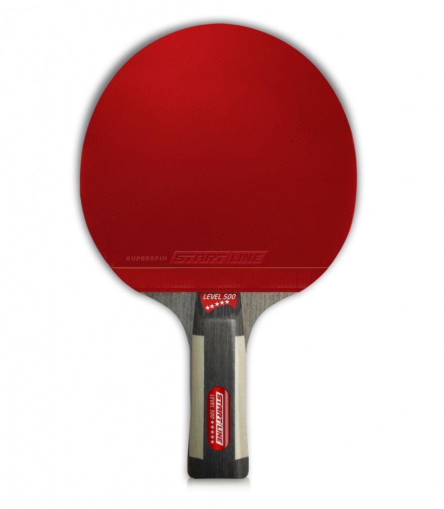 Ракетки для настольного тенниса Level 500. Типы рукояток  анатомическая 0f731006cd3d6